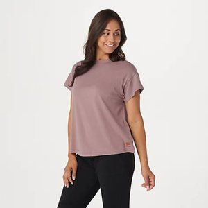 PEACE LOVE WORLD NEW  Alina Crew Neck Tee